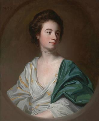 Singleton Painting - Mrs. Robert Hyde by John Singleton Copley
