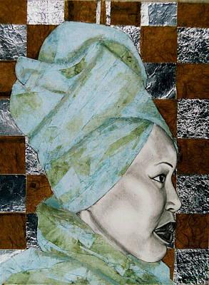Mrs. Seneferu Art Print by Malik Seneferu