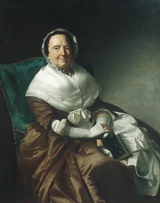 Painting - Mrs. Sylvanus Bourne by John Singleton Copley