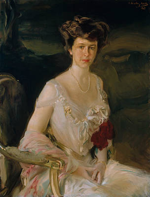 Painting - Mrs. Winthrop W. Aldrich by Joaquin Sorolla