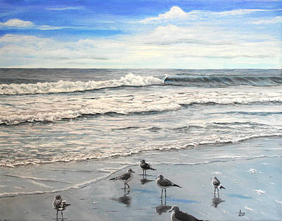 Painting - Mrytle Beach by Mike Ivey
