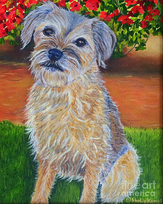 Painting - Ms. Abbey by Shelia Kempf