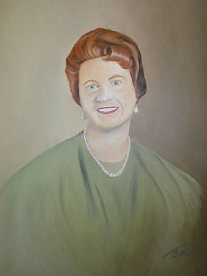 Ms. Bryant Art Print by Angelo Thomas