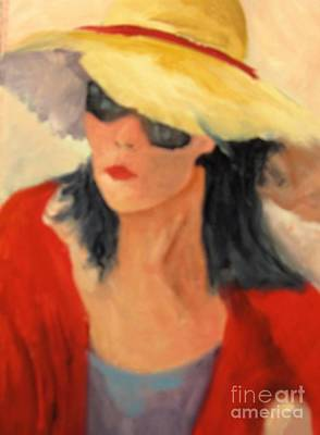 Painting - Ms Hollywood  by Barbara Haviland