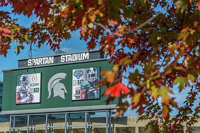 Photograph - Michigan State Campus - Fall  by Pravin Sitaraman