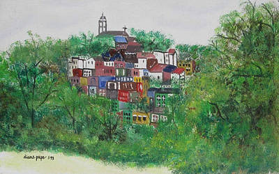 Painting - Mt. Adams  Cincinnati Ohio by Diane Pape