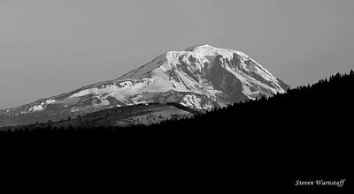 Photograph - Mt. Adams-pahto by Steve Warnstaff
