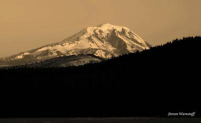 Photograph - Mt. Adams Sunrise 2 by Steve Warnstaff