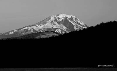 Photograph - Mt. Adams Sunrise by Steve Warnstaff