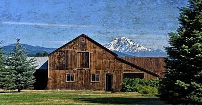 Photograph - Seeing Mt. Adams by Thom Zehrfeld
