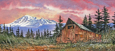 Williamson County Painting - Mt. Baker Dawn by James Williamson