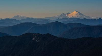 Photograph - Mt. Baker From Mt. Pilchuck by Brian O'Kelly