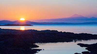 Photograph - Mt. Baker Sunrise by Keith Boone