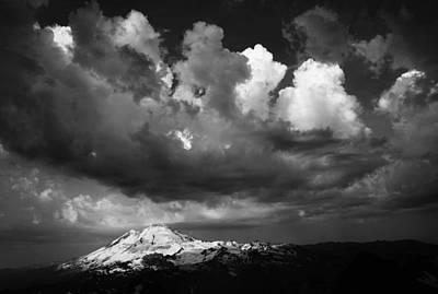 Mt. Baker Thunderstorm. Art Print by Alasdair Turner