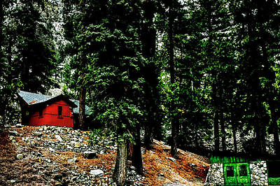 Photograph - Mt. Baldy Cabin by Joseph Hollingsworth