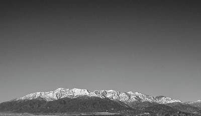 Photograph - Mt Baldy Range by William Kimble