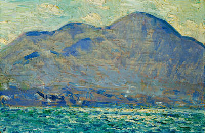 Mt. Beacon At Newburgh Art Print by Childe Hassam