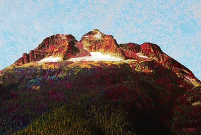 Photograph - Mt Begbie by David Pantuso