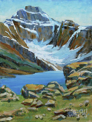 Mt. Biddle And Lake Mcarthur Original