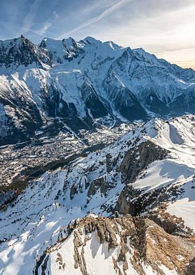 Photograph - Mt Blanc Chamonix by Pierre Leclerc Photography