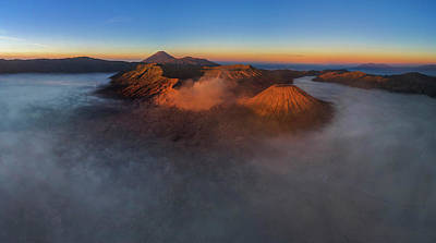 Photograph - Mt Bromo Sunrise by Pradeep Raja Prints