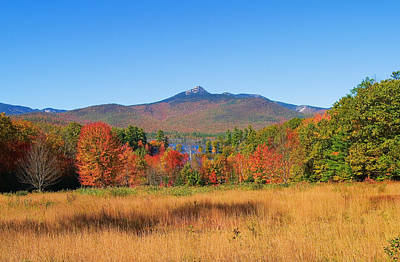 Mt. Chocorua Autumn 2 Horizontal Art Print