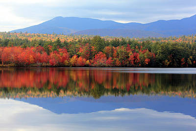 Photograph - Mt. Chocorua Reflections I by Lynne Guimond Sabean