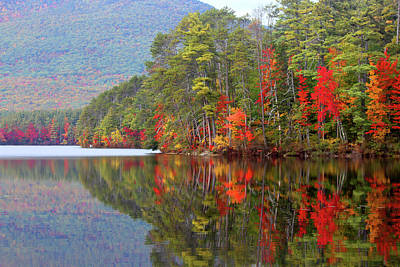 Photograph - Mt. Chocorua Reflections II by Lynne Guimond Sabean