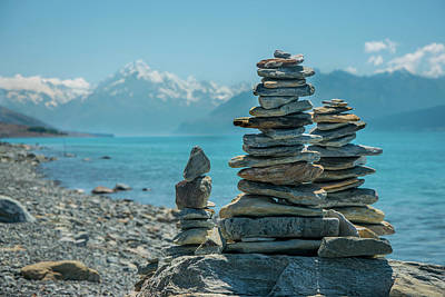 Photograph - Mt. Cook Meditation by Martin Capek