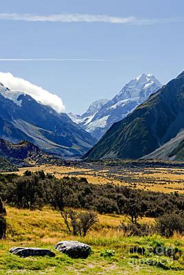 Mt Cook New Zealand Art Print
