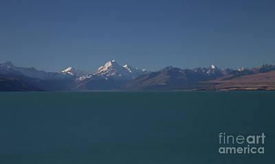 Photograph - Mt Cook - New Zealand by Julian Wicksteed