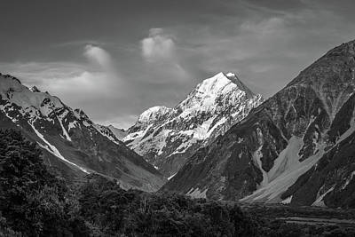 Mt Cook Wilderness Art Print