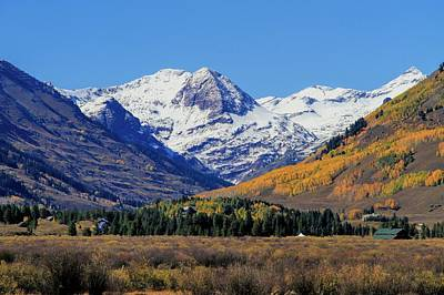 Photograph - Mt Crested Butte Colorado In Autumn by Dan Sproul