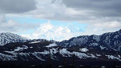 Photograph - Mt. Denali In Her Glory by Judy Wanamaker