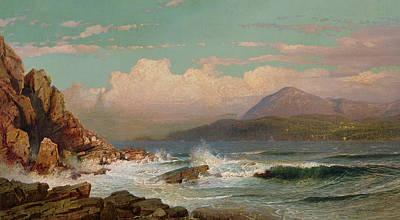 Desert View Painting - Mt Desert   Maine by William Trost Richards