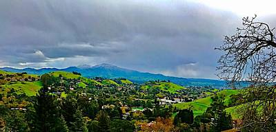 Photograph - Mt. Diablo Snow 2017 by Cadence Spalding