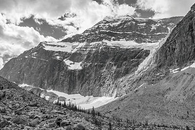 Photograph - Mt. Edith Cavell by Mark Mille