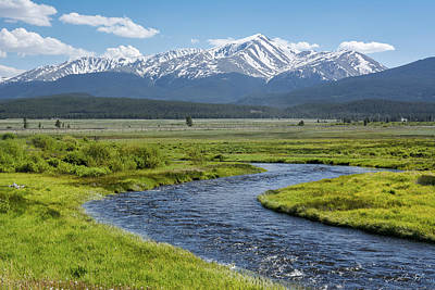 Photograph - Mt. Elbert - Spring by Aaron Spong