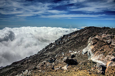 Photograph - Mt. Etna Above The Clouds  by Patrick Boening