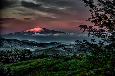 Photograph - Mt. Etna I by Patrick Boening