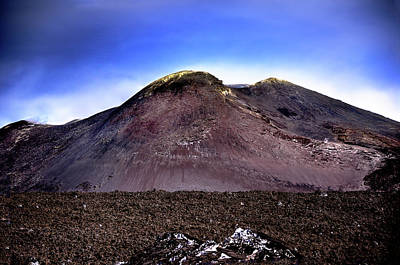 Photograph -  Mt. Etna IIi by Patrick Boening