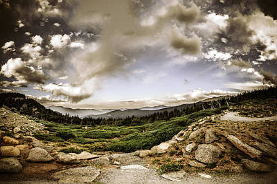 Photograph - Mt. Evans Alpine Vista #2 by Chris Bordeleau