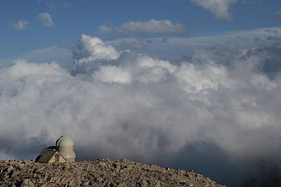 Photograph - Mt. Evans Observatory by Marie Leslie
