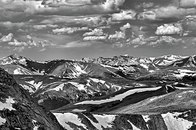 Photograph - Mt Evans Study 5 by Robert Meyers-Lussier