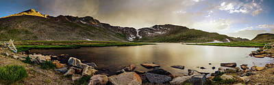 Photograph - Mt. Evans Summit Lake by Chris Bordeleau