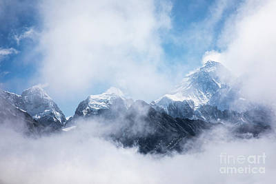 Photograph - Mt Everest In The Clouds by Scott Kemper