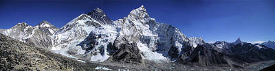 Mt Everest Zone Art Print by Daniel Hagerman
