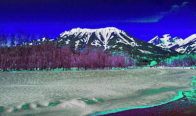 Digital Art - Mt Fernie With The 3 Sisters by David Pantuso