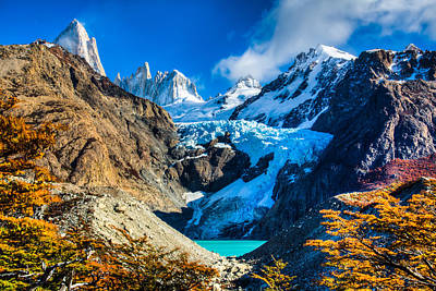 Photograph - Mt. Fitzroy by Walt Sterneman