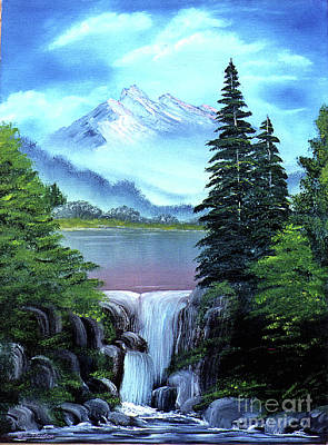 Painting - Mt Fuji by Dee Flouton